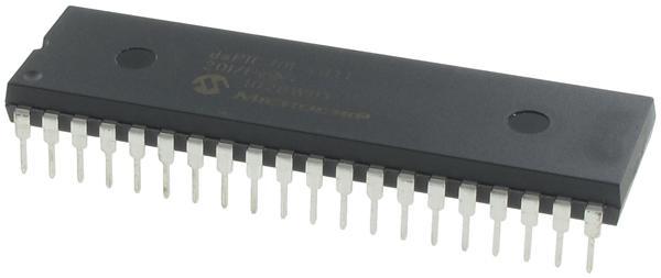产品种类:数字信号处理器和控制器 - DSP, DSC; 核心:RISC; 数据总线宽度:16 bit; 程序存储器大小:48 kB; 数据 RAM 大小:2 kB; 最大时钟频率:40 MHz; 可编程输入/输出端数量:20; 定时器数量:5; 设备每秒兆指令数:30 MIPs; 工作电源电压:2.5 V to 5.5 V; 最大工作温度:+ 85 C; 封装 / 箱体:QFN-28; 安装风格:SMD/SMT; 商标:Microchip Technology; 芯体结构:RISC; 数据 ROM 大小