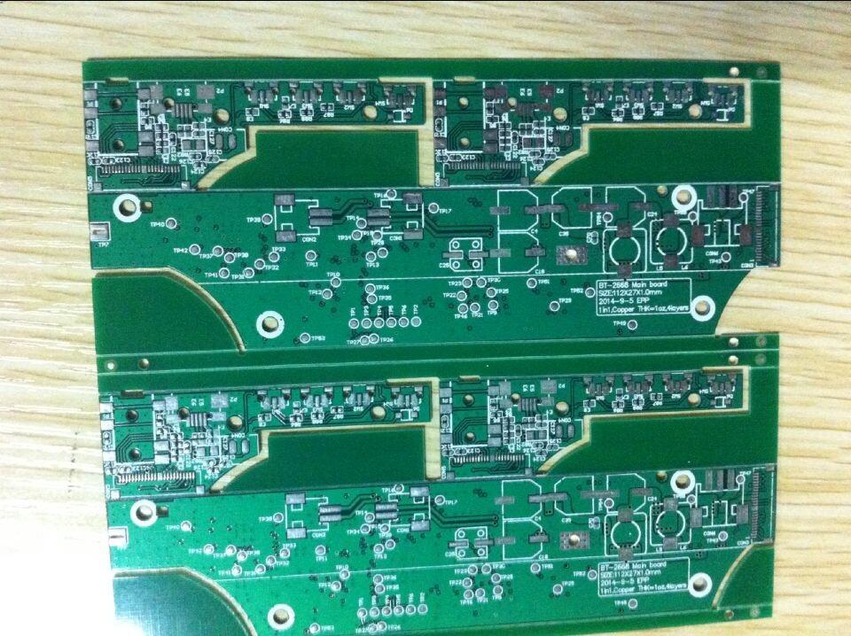 本公司专业从事PCB电路板快速打样生产厂家! 打样锡工艺价格如下: 单双面板: 50*50MM之内10pcs,50元。 单双面板: 100*100MM之内10pcs,90元。 单双面30元/款起 四层板100元/款起 六层板800元/款起 免油墨颜色费!样板免费全测 小批量生产1个平米以内不收测试费 全部使用建滔FR-4 A料 售后质量保证 正常交期:3天,批量交期:4-5天 可12小时 24小时 48小时加急 PCB价格创同行业最低,交期100%准时,品质最好 下单咨询:QQ 1600798600 联系